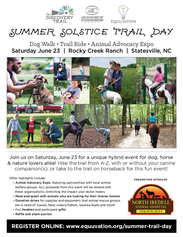 Summer Solstice Trail Day The Carolinas Equestrian